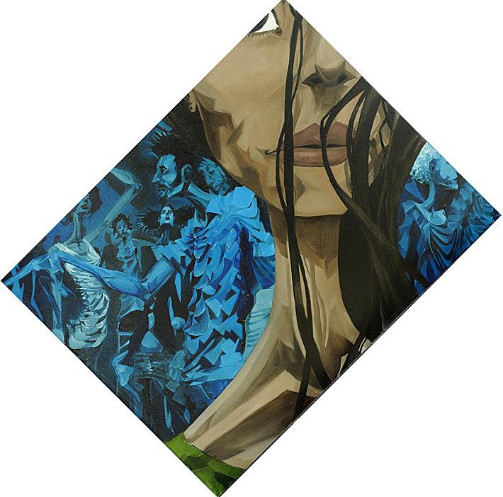 Hello Stranger | 20 x 16  | Oil on canvas | 2007