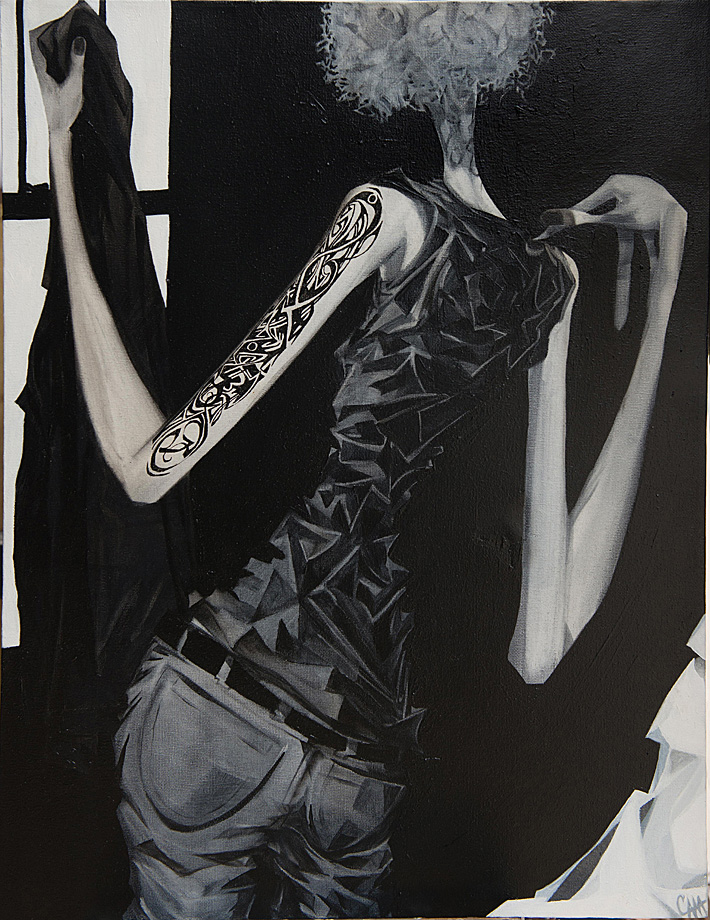 Tattoo | 18 x 24 | Oil on canvas | 2012