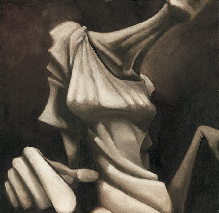 The Muse | 40 x 40 | Oil on Canvas | 1998